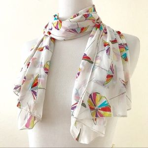 Anne Cole Sheer Scarf Neck or Beach Sarong Wrap
